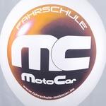 CMYK-Luftballondruck MC MotoCar