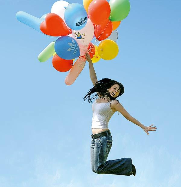 Bedruckte Luftballons erzielen mit minimalem Aufwand eine maximale Wirkung