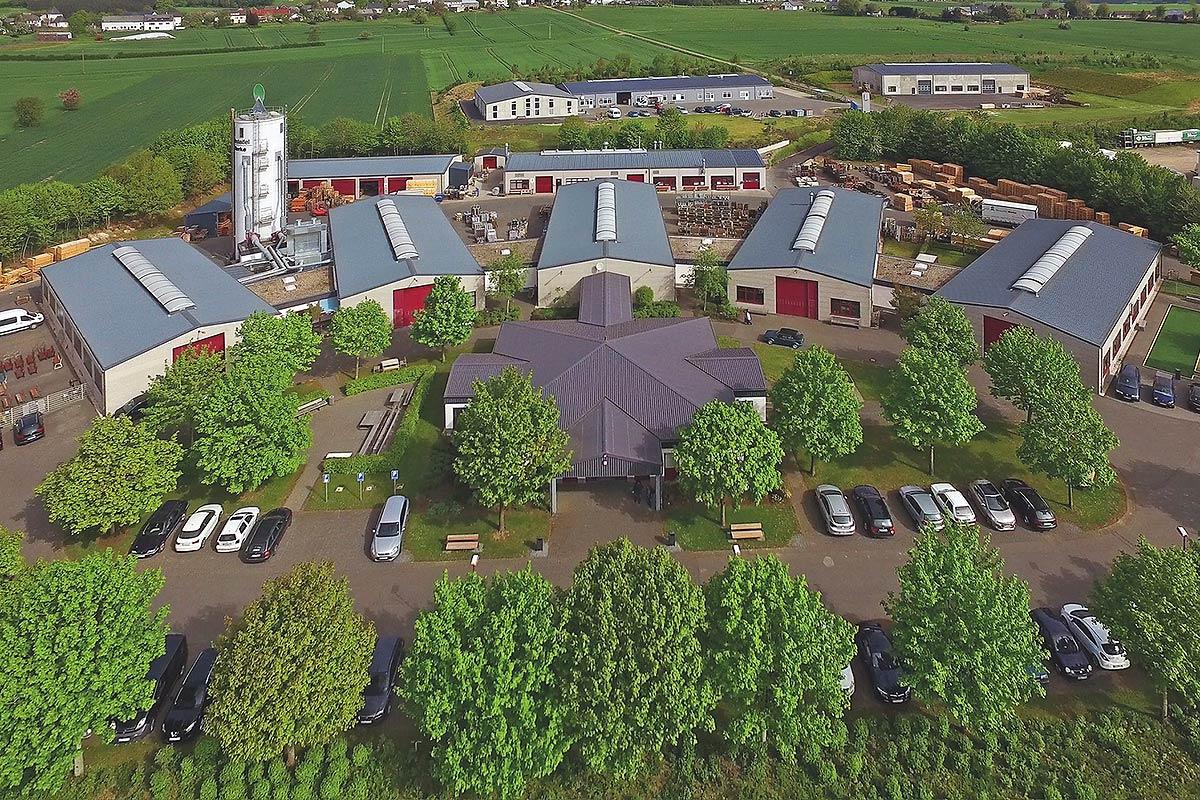 Das Zweigwerk der Freiraumausstattung der Westeifel Werke in Weinsheim bei Prüm