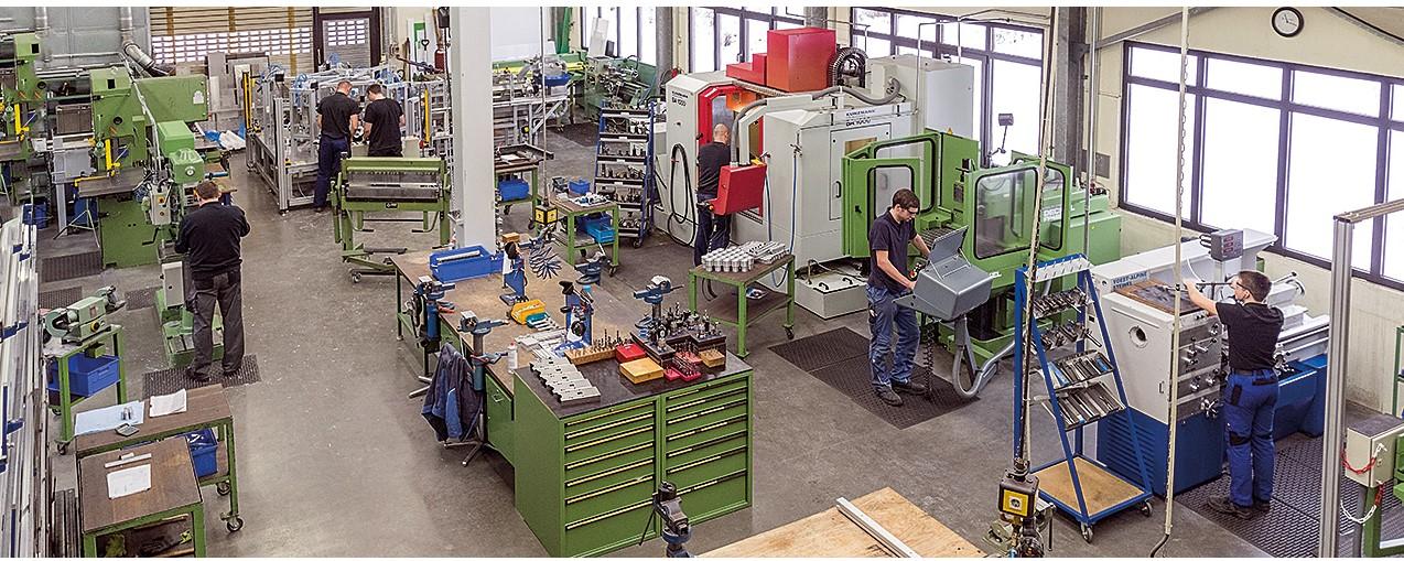 Maschinen- und Vorrichtungsbau