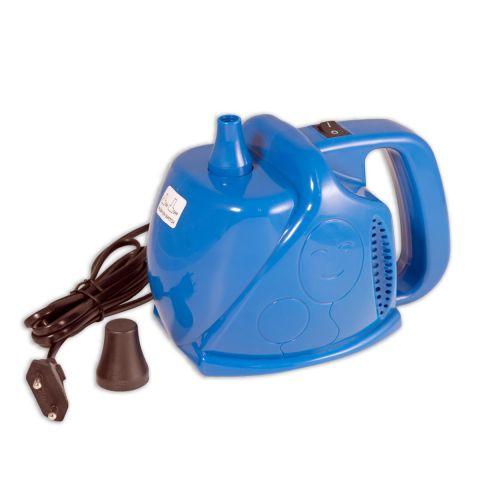 elektrisches Luftballon-Aufblasgerät in blau für den privaten Bedarf