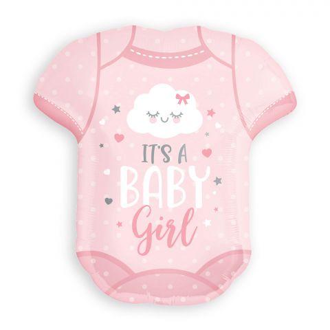 "Folienballon ""Baby Girl"" Onesie (55 X 60 cm)"