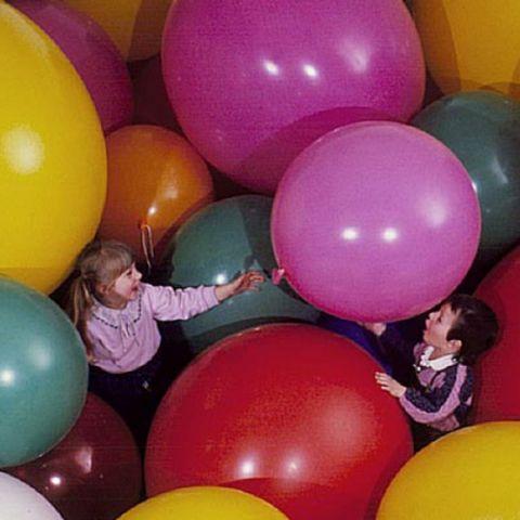 Riesenluftballons Durchmesser: 90 cm, Farben frei wählbar