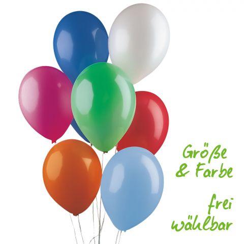 Standardluftballons in Größe und Frabe frei wählbar